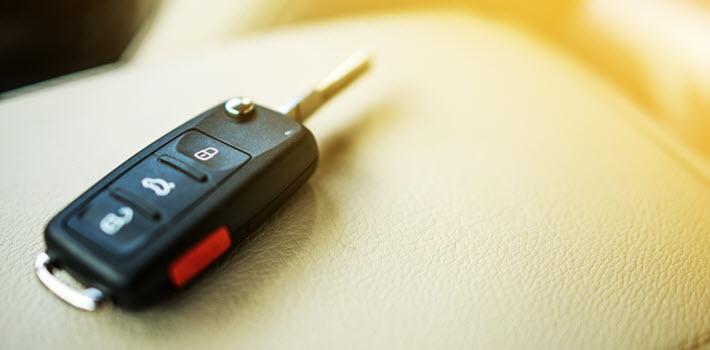 Programmed Car Key