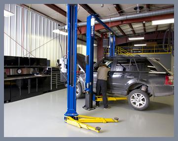 Dell's Service Center Garage