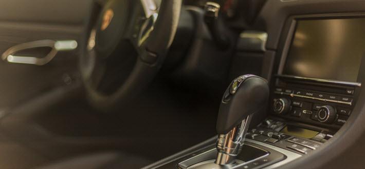 Porsche Cayman Inside View