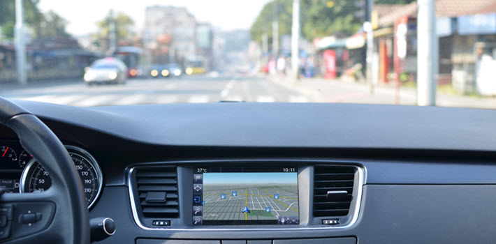 Dashboard Navigation System