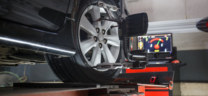 Car Steering Wheel Alignment