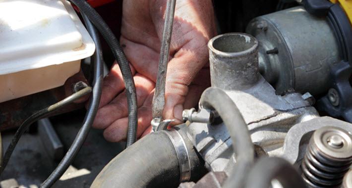 Porsche Water Pump Repair