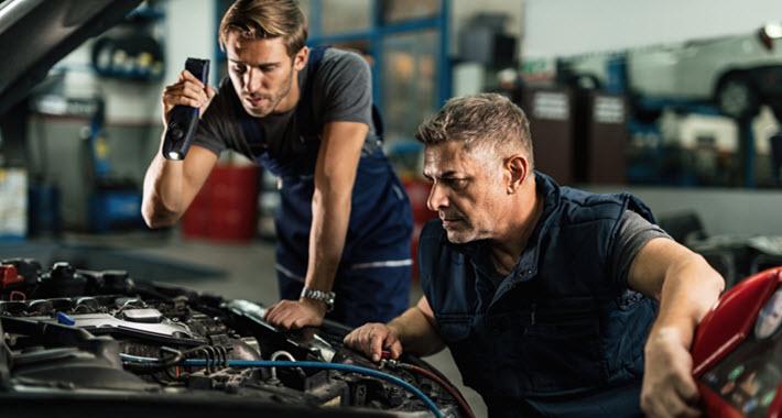 BMW Oil Cooler Gasket Inspection