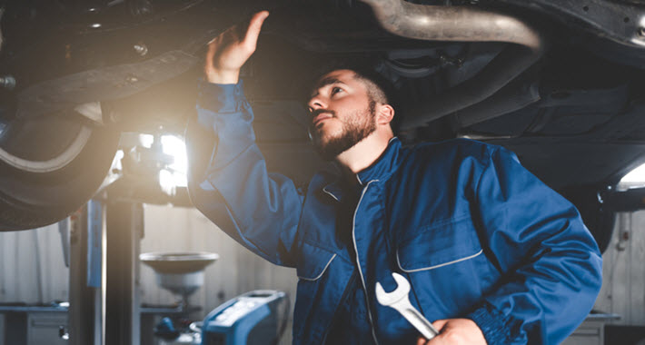 Volvo Suspension Bushing Inspection