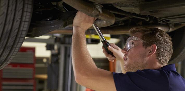Volkswagen Muffler Bracket Repair